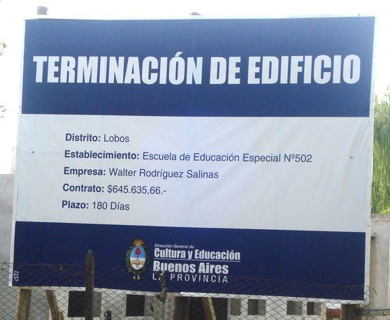 """Cartel """"Gobierno de Buenos Aires"""""""