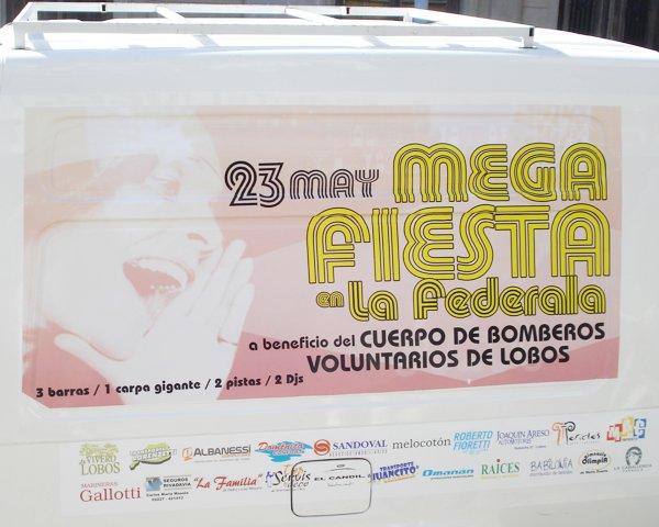 """Vinilo """"Mega Fiesta"""""""