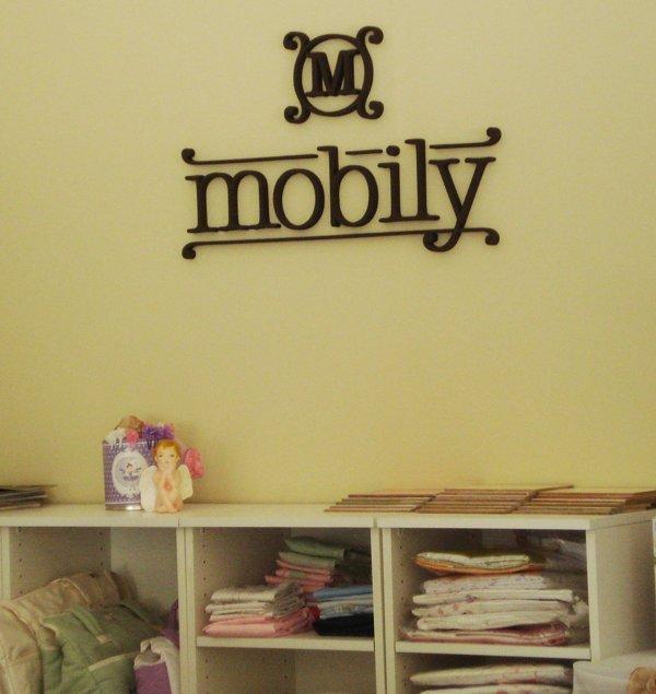 """Letras Corpóreas """"Mobily"""""""