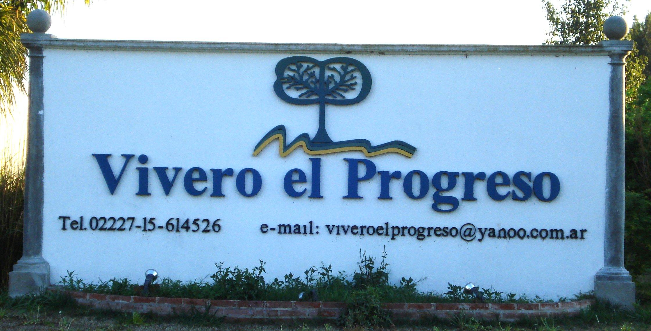 """Letras Corpóreas """"Vivero el Progreso"""""""