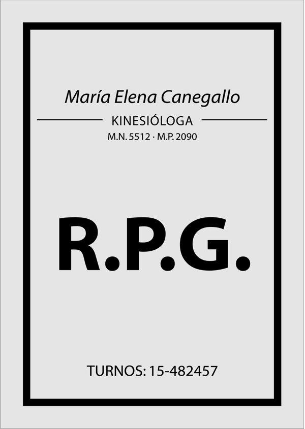 """Cartel de Acrílico """"María Elena Canegallo"""""""