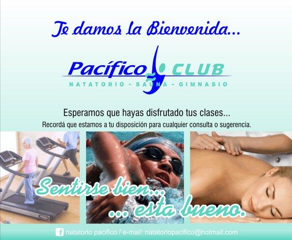 """Publicidad """"Pacífico Club"""""""