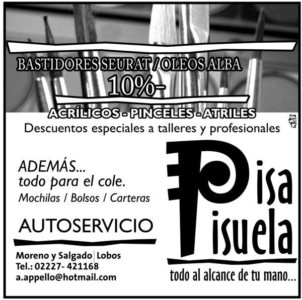 """Publicidad """"PisaPisuela"""""""