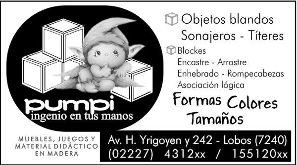 """Publicidad """"Pumpi"""""""