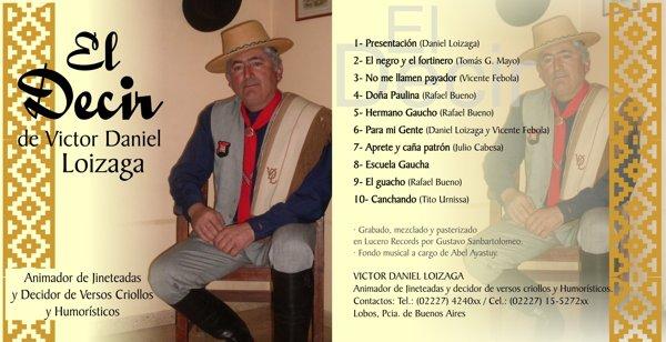 """Tapas para CD """"El Decir"""""""