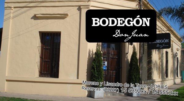 "Tarjeta Personal ""Bodegón Don Juan"""