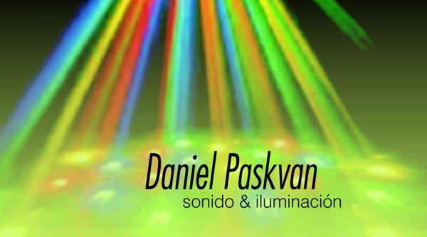 """Tarjeta Personal """"Daniel Paskvan"""""""
