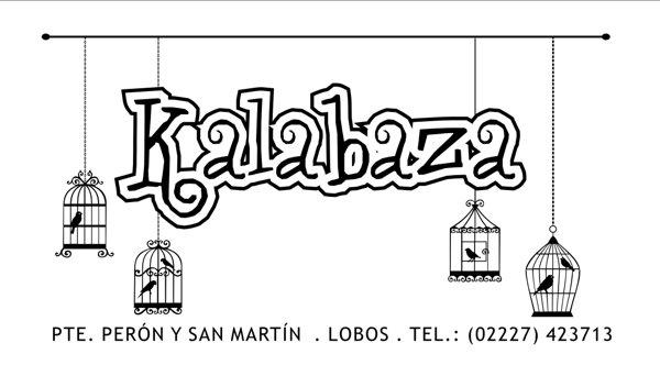 "Tarjeta Personal ""Kalabaza"""