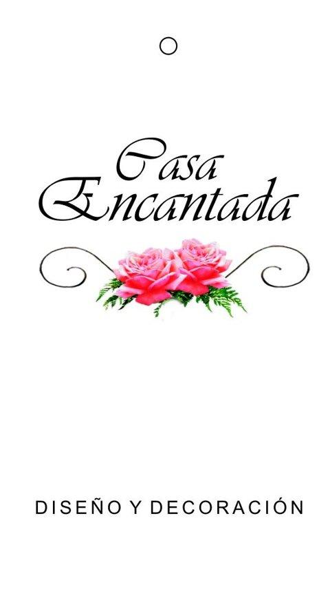 "Etiqueta ""Casa Encantada"""