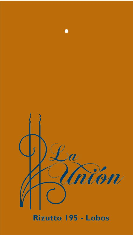 "Etiqueta ""La Unión"""