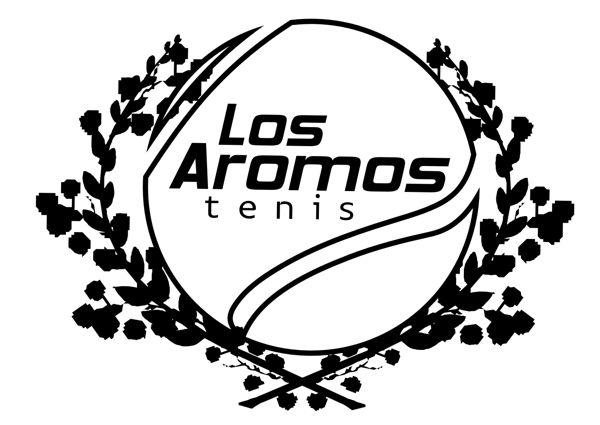 """Logo """"Los Aromos Tenis"""""""